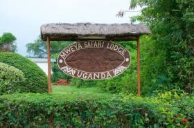 Mweya signpost