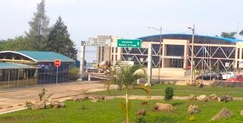 The Gisenyi-Goma overland boarder.